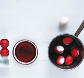 Αβγά με φυσικό χρώμα-πειραματιστείτε με τις προτάσεις του Δημήτρη Ανδρέου - Κυρίως Φωτογραφία - Gallery - Video