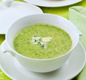 Σούπα με μπρόκολο και σπανάκι, δυναμώνει, δεν παχαίνει - Κυρίως Φωτογραφία - Gallery - Video