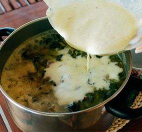 Μαγειρίτσα κλασική, αυγοκομμένη απο την Ντίνα Νικολάου - Ετοιμαστείτε από σήμερα! - Κυρίως Φωτογραφία - Gallery - Video