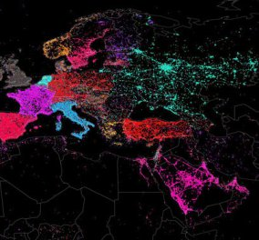 Ο παγκόσμιος χάρτης των tweets με 1,535,929,521 tweets! - Κυρίως Φωτογραφία - Gallery - Video