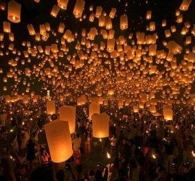 Η φωτογραφία της ημέρας - Φεστιβάλ με αερόστατα στην Ταϊλάνδη! - Κυρίως Φωτογραφία - Gallery - Video