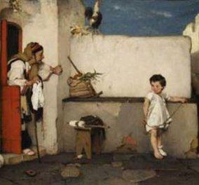 Ποιος πίνακας Έλληνα ζωγράφου πωλήθηκε 1.082.000 ευρώ; - Κυρίως Φωτογραφία - Gallery - Video