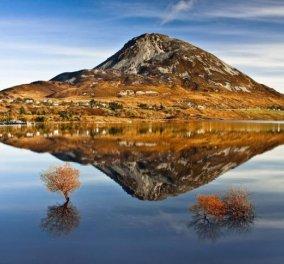 Η φωτογραφία της ημέρας - Η διπλή όψη του βουνού Errigal στην Ιρλανδία!  - Κυρίως Φωτογραφία - Gallery - Video