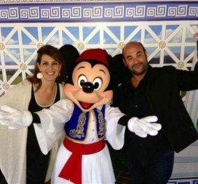 Ο Μίκυ Μάους τσολιαδάκι και η μνηστή του Μίνι χόρεψαν... Οpa με την Νία Βάρνταλος στη Disneyland στο Greek Fat γλέντι - Αργυρώ στην Κουζίνα! - Κυρίως Φωτογραφία - Gallery - Video