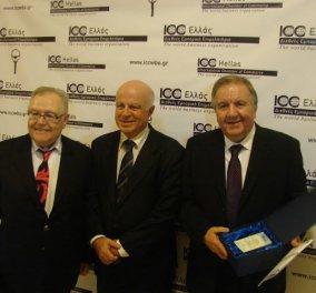 Απονεμήθηκαν τα Βραβεία Business for Peace σε Έλληνες επιχειρηματίες που διακρίθηκαν στο ηθικό επιχειρείν - Κυρίως Φωτογραφία - Gallery - Video
