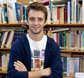 Ο Χαρ. Ιωάννου τα κατάφερε: Το 17χρονο ελληνόπουλο στον Τελικό του Google Science Fair 2013 (φωτό & βίντεο) - Κυρίως Φωτογραφία - Gallery - Video