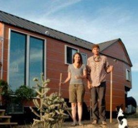 Οικολογικό σπίτι κόστους €36.000 και μηνιαία έξοδα €300 (βίντεο)  - Κυρίως Φωτογραφία - Gallery - Video