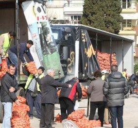 Το κίνημα της πατάτας στην Καλαμαριά  - Κυρίως Φωτογραφία - Gallery - Video
