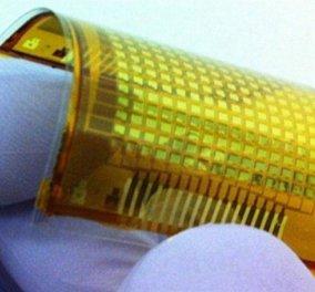 Ηλεκτρονικό δέρμα e-skin που «αισθάνεται» όταν το αγγίζεις έφτιαξαν επιστήμονες - Κυρίως Φωτογραφία - Gallery - Video
