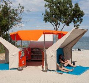 Great idea! Δείτε μια καταπληκτική βιβλιοθήκη πάνω στην αμμουδιά που σχεδίασαν ευφάνταστοι δημιουργοί - Κυρίως Φωτογραφία - Gallery - Video