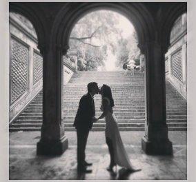 Παντρεύτηκε στην Νέα Υόρκη η Εύα Αντωνοπούλου με τον Παν. Αρκουμανέα-Δείτε την φωτογραφία από τον γάμο που ανάρτησε στο facebook - Κυρίως Φωτογραφία - Gallery - Video