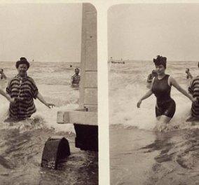 Smile: Τι .... σέξυ μπικινάκια φορούσαν οι γυναίκες στις πλαζ πριν από 100 χρόνια! (φωτογραφίες) - Κυρίως Φωτογραφία - Gallery - Video