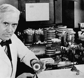 Άγνωστες ιστορίες του Σερ Αλεξάντερ Φλέμινγκ, του γιατρού που έχει σώσει τις περισσότερες ζωές από οποιονδήποτε άλλο άνθρωπο - γεννήθηκε 6 Αυγούστου 1881 (φωτό & βίντεο) - Κυρίως Φωτογραφία - Gallery - Video