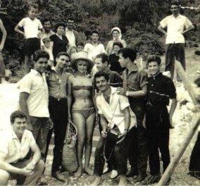 Α ρε Αλίκη, πρωτοσέλιδο ακόμη ...  1960: Επίσκεψη της Αλίκης Βουγιουκλάκη στον Κόλπο Γέρας από το Lesvosnews - Κυρίως Φωτογραφία - Gallery - Video