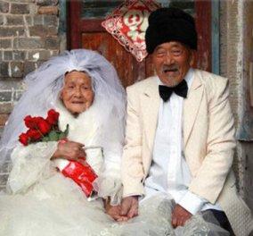Ζευγάρι Κινέζων 103 ετών φωτογραφήθηκε για πρώτη φορά τώρα - Κυρίως Φωτογραφία - Gallery - Video