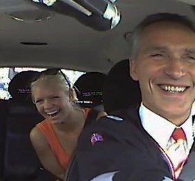 Πρωτότυπο & έξυπνο: ο Νορβηγός πρωθυπουργός έκανε τον... ταξιτζή, για να ακούσει τα προβλήματα του κόσμου-Δείτε τις αντιδράσεις των «πελατών» του (βίντεο) - Κυρίως Φωτογραφία - Gallery - Video