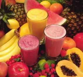 Aπολαυστικά δροσερά υγιεινά smoothies με μπανάνα, παπάγια, ανανά και μύρτιλλα! - Κυρίως Φωτογραφία - Gallery - Video