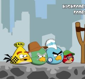 Smile: To διάσημο παιχνίδι Angry Birds έγινε ''Angry Greeks'' με αγανακτισμένους πολίτες που θέλουν να καταστρέψουν τη Βουλή! (βίντεο)  - Κυρίως Φωτογραφία - Gallery - Video