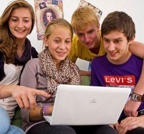 Το 54% των εφήβων χρησιμοποιεί καθημερινά το internet - Κυρίως Φωτογραφία - Gallery - Video