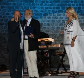 Με το  Διεθνές Βραβείο Giuseppe Sciacca τιμήθηκε ο Μίμης Πλέσσας - παρών ο δημοφιλής ηθοποιός Burak Hakki  ως «γέφυρα» φιλίας Ελλάδας - Τουρκίας (φωτό) - Κυρίως Φωτογραφία - Gallery - Video