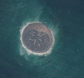H πρώτη δορυφορική εικόνα του νεογέννητου νησιού στο Πακιστάν μετα τον σεισμό  - Κυρίως Φωτογραφία - Gallery - Video