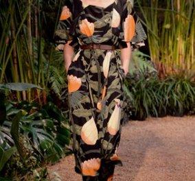Παρασκευή κι ας αφεθούμε στην Παριζιάνικη κομψότητα του οίκου Hermes - H νέα κολεξιόν για το ερχόμενο καλοκαίρι - Τεράστια λουλούδια και jungle design! (φωτό) - Κυρίως Φωτογραφία - Gallery - Video