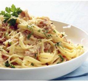 Παγκόσμια ημέρα ζυμαρικών σήμερα - Απολαύστε μία σπέσιαλ καρμπονάρα από τον σεφ Ηλία Μαμαλάκη! - Κυρίως Φωτογραφία - Gallery - Video