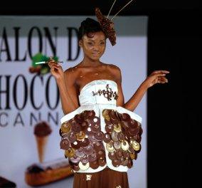 Γαλλία: Δείτε επίδειξη μόδας με υψηλή ραπτική από ...σοκολάτα (βίντεο) - Κυρίως Φωτογραφία - Gallery - Video