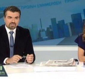 Σε αμηχανία η Μάριον Μιχελιδάκη και ο Γιάννης Σκάλκος στην ΔΤ για την επέμβαση των ΜΑΤ! (βίντεο) - Κυρίως Φωτογραφία - Gallery - Video