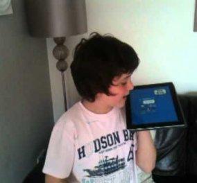 Απίστευτο βίντεο: Δείτε τον 10χρονο που μπορεί και μιλάει...ανάποδα (βίντεο) - Κυρίως Φωτογραφία - Gallery - Video