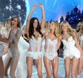 To καλύτερο Victoria Secret Fashion Show ever - 67 διαφορετικά σύνολα, 28 ζευγάρια φτερά, 40 μοντέλα και το φανταστικό σουτιέν των 4.200 πολύτιμων λίθων!(φωτό-βίντεο) - Κυρίως Φωτογραφία - Gallery - Video