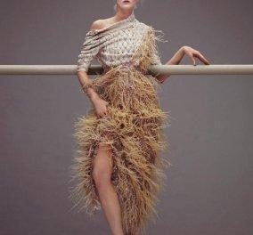 Όταν το ρεπορτάζ μόδας μοιάζει με έκθεση έργων τέχνης : Συγκλονιστικά ρούχα για γυναίκες -μπαλαρίνες, συγκλονιστικά φωτογραφημένα - Emilio  Pucci, Vivienne Westwood (φωτό) - Κυρίως Φωτογραφία - Gallery - Video