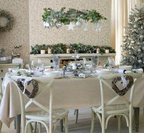 Ιδέες της τελευταίας στιγμής για να διακοσμήσετε μοναδικά το τραπέζι των Χριστουγέννων!  - Κυρίως Φωτογραφία - Gallery - Video