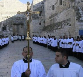 Χριστουγεννιάτικες εικόνες από τη Βηθλεέμ!  - Κυρίως Φωτογραφία - Gallery - Video