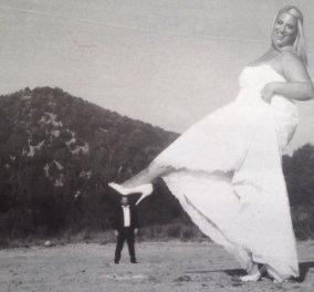 Smile: H δε γυνή Κατερίνα να... φοβείται τον άνδρα; Πάντως η ευτραφής νύφη έχει πολύ χιούμορ, άρα Βίον ανθόσπαρτον! (φωτό) - Κυρίως Φωτογραφία - Gallery - Video