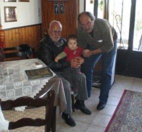 Story of the day: ''Θεός'' της Κρήτης ο Ηλίας Βασιλάκης με 5 παιδιά, 15 εγγόνια, 20 δισέγγονα, 5 τρισέγγονα! (φωτό) - Κυρίως Φωτογραφία - Gallery - Video