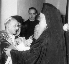 Όταν ο Πάπας συνάντησε τον Πατριάρχη-Μια συνάντηση που άργησε 525 χρόνια (φωτό) - Κυρίως Φωτογραφία - Gallery - Video
