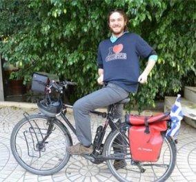 Story of the day - Ο Vincent Touchard διένυσε με ποδήλατο της Ευρώπη αλλά αγάπησε τη Κρήτη - Θα μείνει για πάντα εδώ! (φωτό)  - Κυρίως Φωτογραφία - Gallery - Video