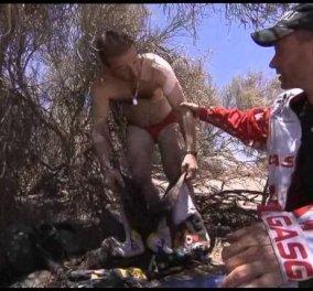 Story of the day - Η απίστευτη ιστορία του μοτοσικλετιστή του Ράλι Ντακάρ Enric Marti Flix - Τον βρήκαν γυμνό και σε παραλήρημα μέσα στην έρημο! (φωτό - βίντεο) - Κυρίως Φωτογραφία - Gallery - Video