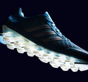 Νέα καινοτομία από την Adidas στον χώρο των αθλητικών παπουτσιών! Τα επαναστατικά «springblade» έχουν σόλες που στηρίζονται σε 16 πλαστικές ελαστικές λεπίδες! (φωτό & βίντεο) - Κυρίως Φωτογραφία - Gallery - Video