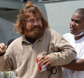 Story of the day - H απίστευτη ιστορία του Χοσέ Σαλβαδόρ Αλμπαρένγκο ως άλλος Ροβινσώνας Κρούσος που περιπλανιόταν επί 16 μήνες στην θάλασσα! (φωτό) - Κυρίως Φωτογραφία - Gallery - Video