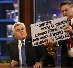 Ο «βασιλιάς της νύχτας» στην ΤV, Τζέι Λένο, αποχαιρέτησε το κοινό του «Tonight Show» και αποχώρησε από την εμβληματική εκπομπή του NBC - «Όταν ξεκινούσα, ο Bieber ήταν αγέννητος» σχολίασε! (βίντεο) - Κυρίως Φωτογραφία - Gallery - Video