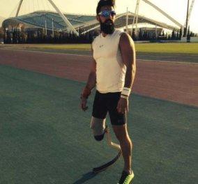 Ρόδος: Έχασε το πόδι του αλλά όχι την πίστη του - Πως ένας αθλητής δεν το βάζει κάτω και με τεχνητό μέλος ξαναπρωταγωνιστεί λίγους μήνες μετά! (Διάβαστε αυτή την ιστορία - αποκάλυψη γενναιότητας) - Κυρίως Φωτογραφία - Gallery - Video