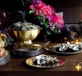 Ο έρωτας περνάει από το στομάχι ειδικά την παραμονή του καινούργιου χρόνου! Πρωτοχρονιάτικο Τραπέζι - Κυρίως Φωτογραφία - Gallery - Video