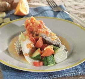 Να φάμε σήμερα μια σφυρίδα με σάλτσα εσπεριδοειδών και σπιρτάδα κόλιαντρου που προτείνει ο σεφ Τάσος Μπίκος! - Κυρίως Φωτογραφία - Gallery - Video