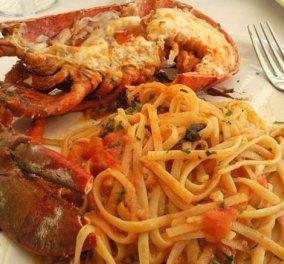 Αστακομακαρονάδα μας μαγειρεύει σήμερα ο σεφ μας Κωνσταντίνος Μουζάκης-Και νηστίσιμο, και χορταστικό πιάτο μούρλια! - Κυρίως Φωτογραφία - Gallery - Video