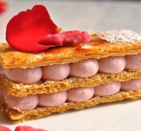 Πάμε να φτιάξουμε νηστίσιμο μιλφέιγ με φράουλα δια χειρός του σεφ μας Κωνσταντίνου Μουζάκη; Είπαμε δεν θα τα γλυτώσουμε τα γλυκά τη σαρακοστή! - Κυρίως Φωτογραφία - Gallery - Video