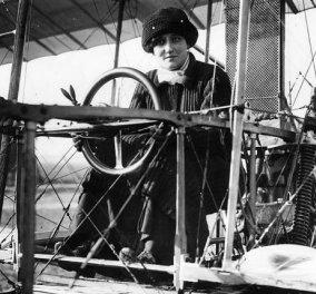 Story of the day: Η συγκλονιστική ιστορία της πρώτης γυναίκας πιλότου - Η 24χρονη Γαλλίδα Βαρώνη, Ρεϊμόντ Ντε Λαρός, πέταξε ψηλά μόλις για 9 χρόνια προτού συντριβεί με το αεροσκάφος της  - Κυρίως Φωτογραφία - Gallery - Video