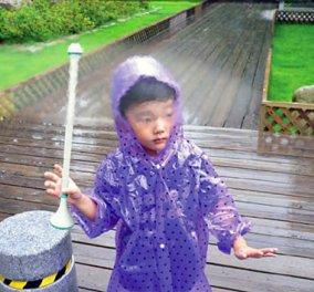 «Αόρατη» ομπρέλα με αέρα, η πρόταση του μέλλοντος! - Κυρίως Φωτογραφία - Gallery - Video