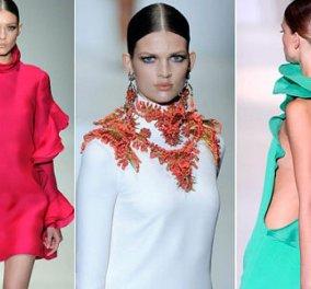 Τα εκτυφλωτικά χρώματα για την άνοιξη και το καλοκαίρι 2013 από τον Οίκο GUCCI (όλο το fashion show) - Κυρίως Φωτογραφία - Gallery - Video